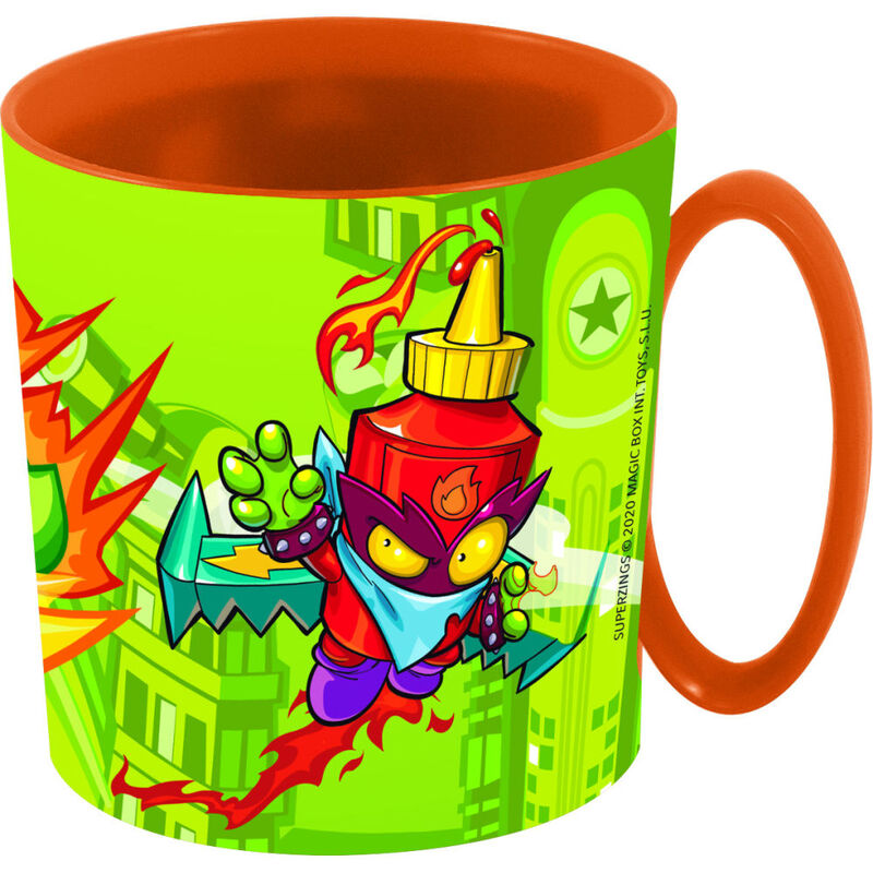 Taza micro 350ml de Super Zings