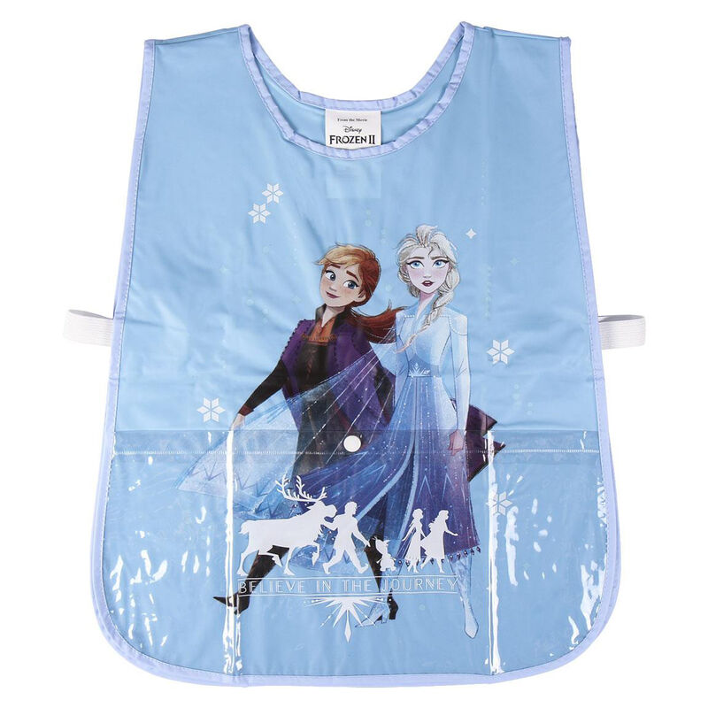Delantal impermeable pvc de Frozen 2