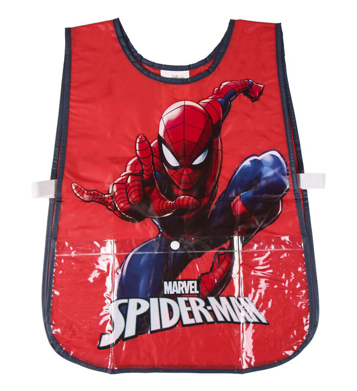 Delantal impermeable pvc de Spiderman