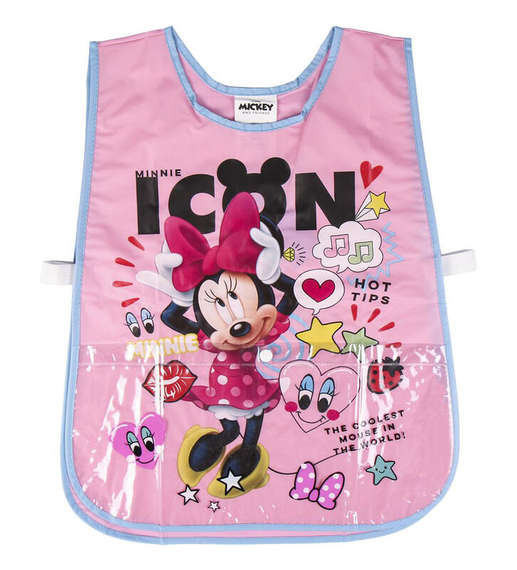 Delantal impermeable pvc de Minnie Mouse