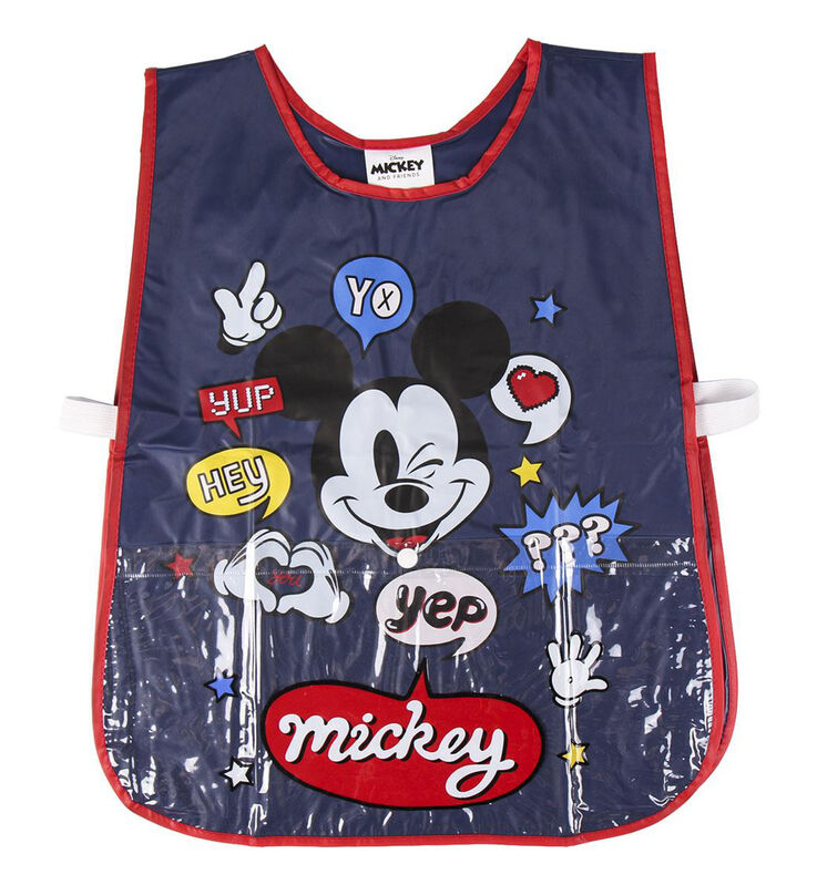 Delantal impermeable pvc de Mickey Mouse