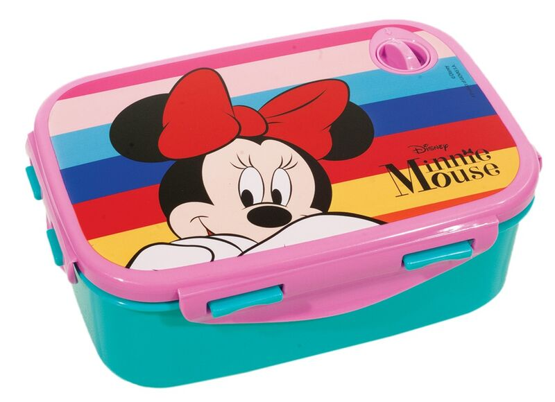 Sandwichera rectangular de Minnie Mouse