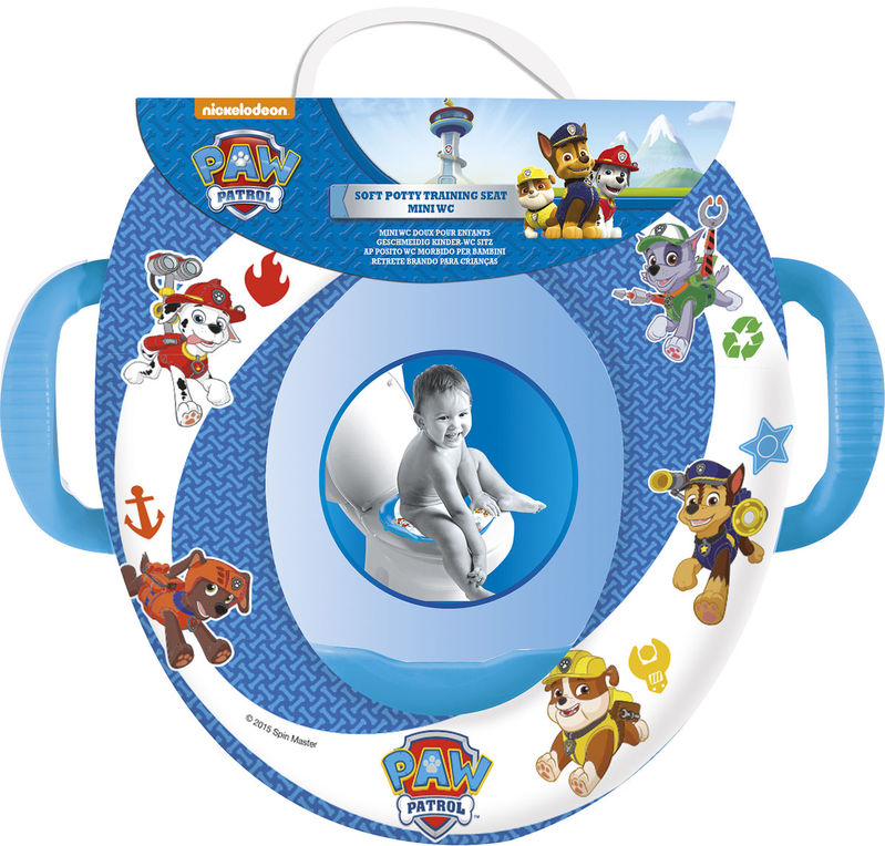 Reductor mini wc con asas de Paw Patrol