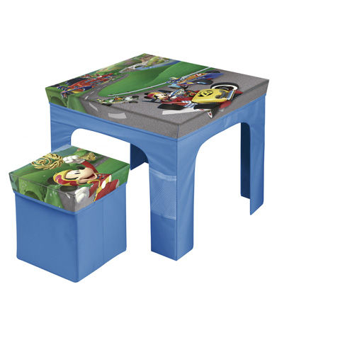Set mesa con taburete plegable de Mickey Mouse