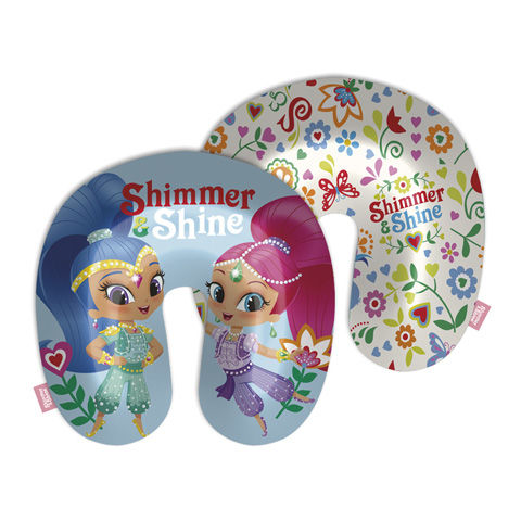Cojin cuello poly 33x33cm de Shimmer And Shine